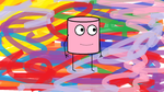 Pink Marshmallow Man by jhyre