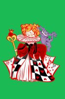 Queen of Hearts, without tarts by labrattish