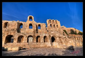 Herodium Odeon in Athens by etsap