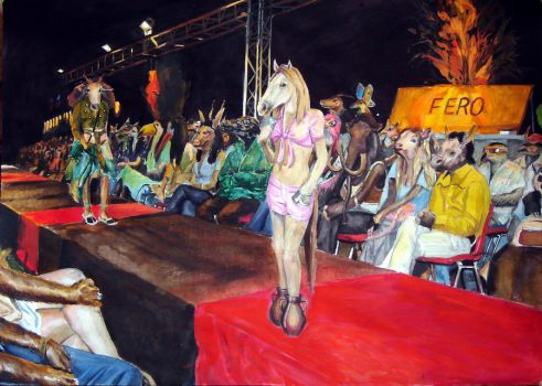 Fashion show by Mr S. by Isabella-Iskandaryan