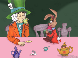 Mad Tea Party by Violet--Gypsy