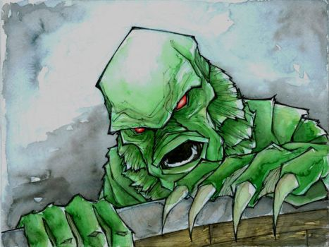 creature from the black lagoon by MatthewFletcher720