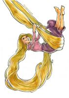 TANGLED - Rapunzel by MarcelPerez