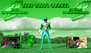 Best Green Ranger by rangeranime