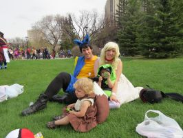 Pokemon Family by CosplayCrazed