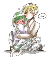 Belated HBD Kido Tsubomi by erichankun