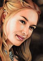 Game of Thrones - Cersei Lannister by Trev--Murphy