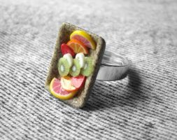 Fruity Gemstone Ring by PetitPlat