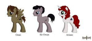 RuneScape's Signature Heroes (ponified) by Nerd-Artist23