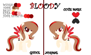 Bloody | Reference Sheet by BloodLover2222