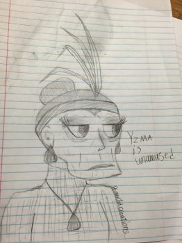 Yzma. Nothing special just Yzma by budderninjaMC