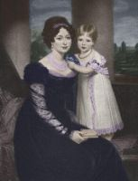 Queen Victoria with her mother by MemoriesOfTime97
