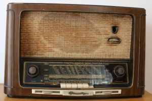 Old radio Stock 04 by Malleni-Stock
