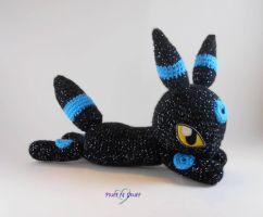 Shiny Umbreon Amigurumi by SailorMiniMuffin
