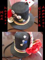 Mad Hatter Mini Top Hat by mad-hatter-inc