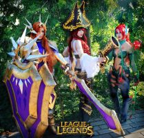 League Of Legends Cosplay by Katsurag