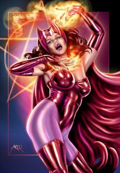 Scarlet Witch II by ArcosArt