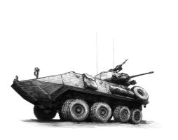 LAV-25 by aaronprovost
