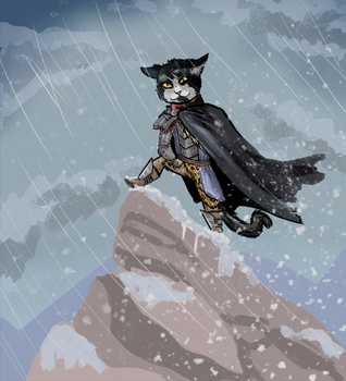 Northern Kitty by ScoomaKhajiit