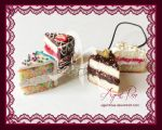 Polymer Clay White Cake Assortment by AgentRose