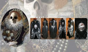 Morbid Elizabeth Tudor Dress I by MADmoiselleMeli