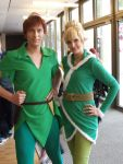 Peter Pan and Tinkerbell by Jake885