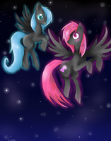Fly with me sister by espadafun