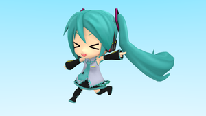 Nendoroid Miku~ (Blender) by Vocalizer