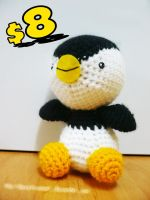 Crocheted Penguin for sale by GracePessimist