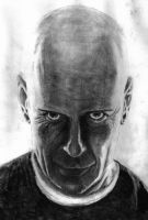 Bruce Willis in Charcoal by cjc7664