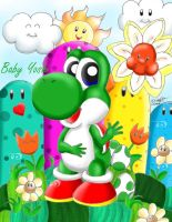 Happy Baby Yoshi Story by Bowser2Queen