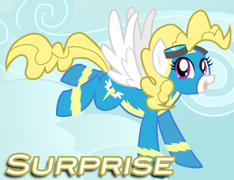 Surprise (Wonderbolt) by Xain-Russell