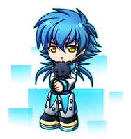 *Deep Manly Voice* Aoba by WatermelonOwl