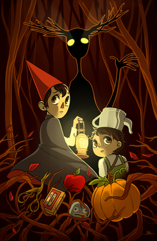 Over the Garden Wall by KaiTexel