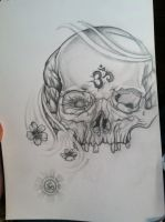 peace through death quick drawing by gkarts661