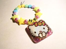 Starry Hello Kitty Resin Kandi by Lutrasaura
