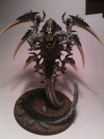 Trygon of Hive Fleet Daedalus by Stefoserpent