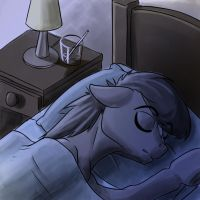 Fixer Upper: Sleeping by MykeGreywolf