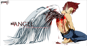 +I'm No Angel+ by InvisibleRainArt