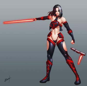 Lady Sith Sareena by Karosu-Maker