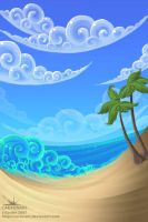 Beach by joanniegoulet