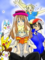 Pokemon X and Y Crew (Older) by The-Thousand-Master