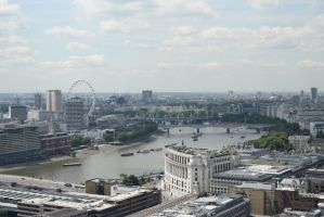 View from St Paul's Cathedral II by Charmed-Ravenclaw