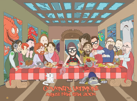 The Last Phish Supper by VinnieScullo