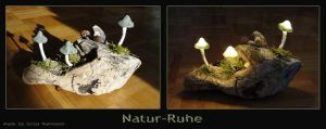 Mushroom Light Natur-Ruhe by Psydrache