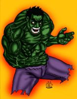 HULK Colored by Voltage24 by MARR-PHEOS