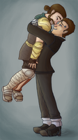 I thought I lost you, buddy! by Nokikissa