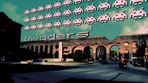 The 8 bit series - Invaders by CrazyEM