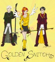 The Golden Snitch by TheRaineDrop