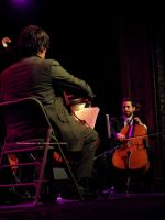 2012 Portland Cello Project 002. by GermanCityGirl